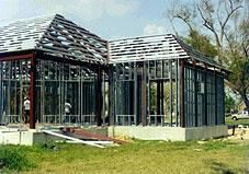 avec cette solution nitra se limitera a fournir la structure acier et un de ses monteurs certifi montera la structure sur le chantier
